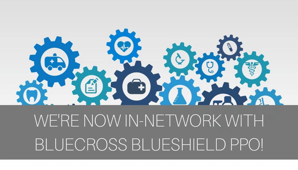 Cedar Tree is now IN-NETWORK with BlueCross BlueShield PPO!